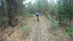 Mountain biking at Kingdom Trails in VT on 10-23-2011. Video by Chris S..