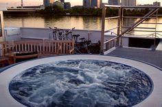 AmaWaterways - Whirl pool aboard AmaDagio