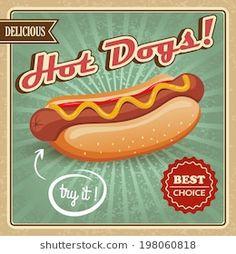 """Vintage Vienna Beef Polish Sausage Hotdog Italian Beef Metal Sign 23 x 35"""" Warp"""