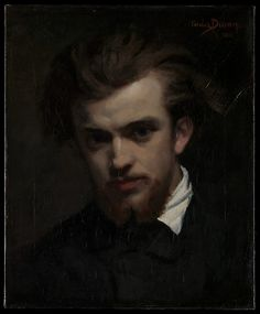 Carolus-Duran (Charles-Auguste-Émile Durant) (French,1837–1917). Henri Fantin-Latour (1836–1904), 1861. The Metropolitan Museum of Art, New York. Purchase, Marisa I. Alonso Bequest and Elizabeth and Thomas Easton Gift, in memory of their mother, Joan K. Easton, 2014 (2014.608) #mustache #movember