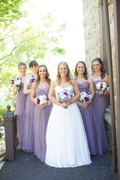 Bridal Party on the porch | Firefly Mobile Studios |  Green Irene Flower Shop |  Elliston Vineyards, Sunol, CA