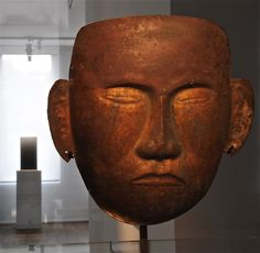 Chinese death mask (Liao dynasty, 907 - 1125)