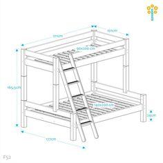 Suwem Stor Familjesäng Bunk Bed Rooms, Bunk Beds, Kids Room, New Homes, Woodworking, Bedroom, House, Inspiration, Furniture