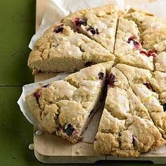 Cranberry-Lemon Scones From Better Homes and Gardens, ideas and improvement projects for your home and garden plus recipes and entertaining ideas.
