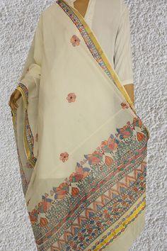 Fabric Paint Shirt, Fabric Painting, Fabric Art, Saree Painting Designs, Fabric Paint Designs, Hand Painted Sarees, Hand Painted Fabric, Dress Illustration, Fashion Illustration Sketches