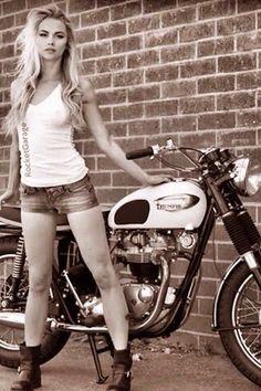 bikes-n-girls:  Biker girl http://bikes-n-girls.tumblr.com/