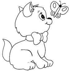 41 Little Cat Coloring Pages Pictures