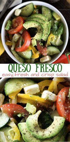 Queso fresco fresh salad - BerryMaple