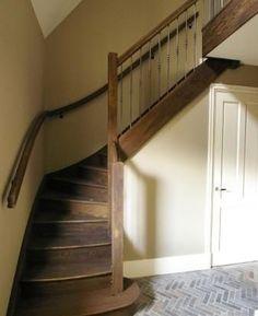 Eenvoud.. Zó mooi ..trap ...vloer