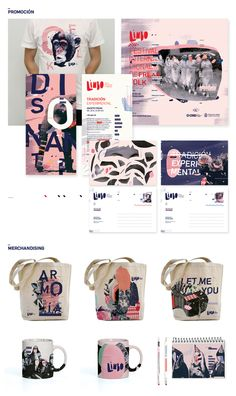 / Limbo / Festival de freak folk by Ro Gal, via Behance. Textures, typography, hand lettering and photography combined to create a unique and visually striking brand identity. Aesthetic is very versatile, so it translates easily across different forms. Identity Design, Brochure Design, Visual Identity, Brand Identity, Logo Design, Brand Design, Event Branding, Corporate Identity, Brainstorm