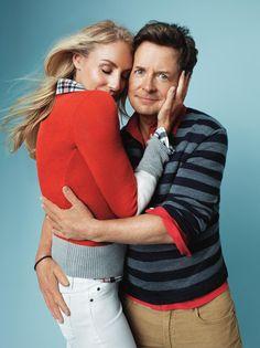True Love - actors Michael J. Fox  Tracy Pollan. Holiday 2012.