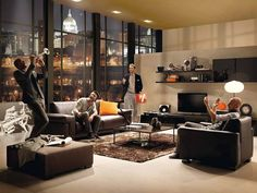 Metropole for Natuzzi - By Frans Schrofer
