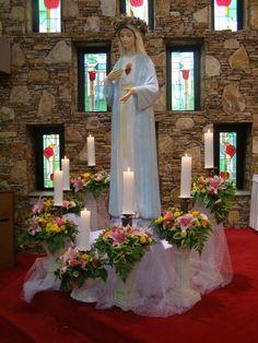 2009년 5월 22일 성모님의 밤 동래성당 성전