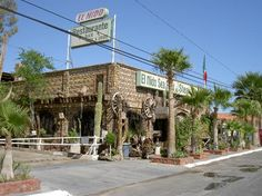 El Nido Restaurant and Steak House in San Felipe on the Baja, Mexico