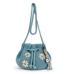 The new Moraga Small Drawstring in Horizon Floral is right on trend with this seasons festival theme!