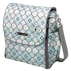 Petunia Pickle Bottom Classically Crete Boxy Backpack