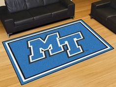 Middle Tennessee State University 5x8 Rug