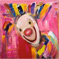 Bilderesultat for marianne aulie klovner Clown Images, Edvard Munch, Culture, Fine Art, Canvas, Creative, Artwork, Painting, Abstract