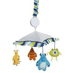 "Monsters Inc. Musical Mobile - Kids Line - Babies ""R"" Us Monsters Inc Bedroom, Monsters Inc Baby, Baby Boy Rooms, Baby Boy Nurseries, Baby Room, Babies Nursery, Nursery Crib, Crib Bedding, Kids Rooms"