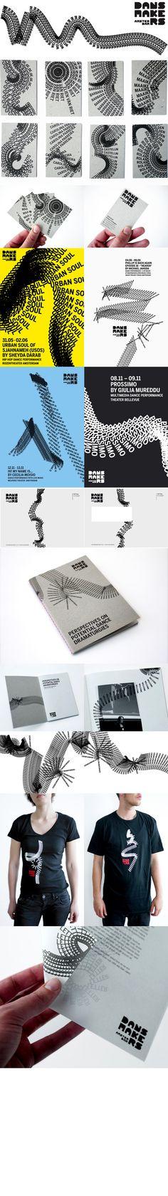 Dansmakers   Lava Graphic Design, Amsterdam