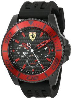 Ferrari Men's 'XX Kers' Quartz Stainless Steel Casual Watch (Model: 0830310)