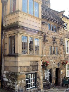 Barnard Castle 16th century house, Teesdale, County Durham, England
