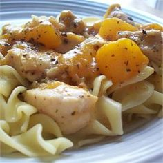 Byrdhouse Spicy Chicken and Peaches - Allrecipes.com