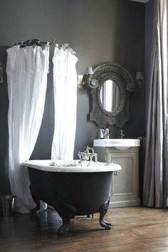 tringle rideau douche circulaire ronde galbobain baignoire pieds de lion id es pour la maison. Black Bedroom Furniture Sets. Home Design Ideas