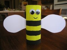 Bumble Bee out of TP roll.