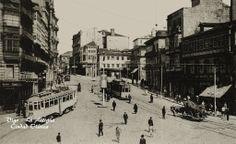 La Puerta del Sol en los años 20.