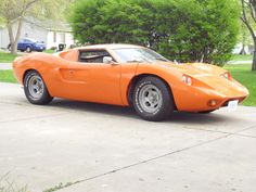 Fiberfab Avenger took some design cues from Fords but not an exact replica. Kit Cars, Sand Rail, Ford Gt40, Weird Cars, World Of Sports, Le Mans, Sport Cars, Avengers, Project Ideas