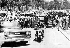 May 13, 1958  During a visit to Caracas, Venezuela, Vice President Richard M. Nixon's car is attacked by anti-American demonstrators.