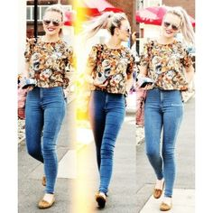 Perrie Edwards ❤ liked on Polyvore featuring little mix, perrie edwards, perrie, people and one direction