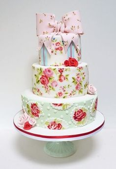 Shabby Chic Cake...