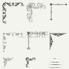 Resultado De Imagen Para Marcos Decorativos Para Cuaderno