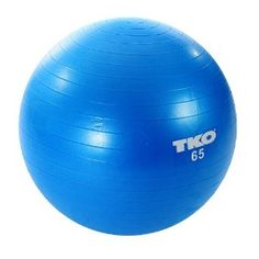 The TKO Fitness Ball undergoes several rigorous tests, including a resistance test. Thanks to its superior construction, TKO's Fitness Ball can withstand over 1,200KG (2,645 Lbs) of pressure. Great for improving balance and flexibility and for toning.