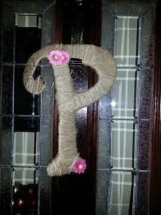 front door initial decoration