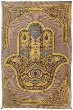 52 x tapestry. So many ways to use a cotton tapestry. cotton with corner loops for hanging. Punk Jewelry, Yoga Jewelry, Hippie Jewelry, Screen Printer, Hand Of Fatima, Brown Aesthetic, Wedding Art, Hamsa Hand, Wall Prints