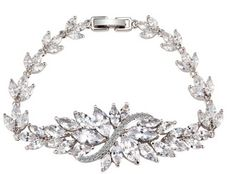 Cheap bracelets for, Buy Quality chain bracelet directly from China bracelets for women Suppliers: Christmas Gift Flower Crystal Chain Bracelet for Women White Gold Color AAA Zircon Luxury High Quality Jewelry Link Bracelets, Silver Bracelets, Bangle Bracelets, Jewelry Necklaces, Bangles, Jewellery, Flower Bracelet, Fashion Bracelets, Necklace Set
