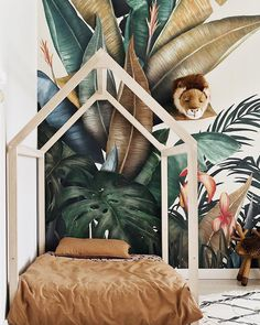 Awesome Deco Chambre Tropicale that you must know, You?re in good company if you?re looking for Deco Chambre Tropicale Baby Bedroom, Baby Room Decor, Nursery Room, Kids Bedroom, Boys Jungle Bedroom, House Frame Bed, House Beds, Bed Frame, Diy Wooden Floor