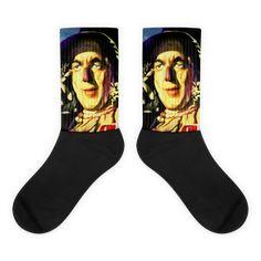 Scarecrow Wizard of Oz Movie Socks Cool Socks, Awesome Socks, Scarecrow Wizard Of Oz, Wizard Of Oz Movie, Us Man, The Wiz, Artwork Prints, Bold Colors, Movies