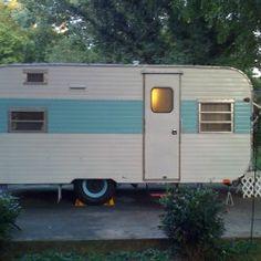 Vintage Frolic Travel Trailer In Rvs Amp Campers Ebay
