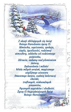 Kartka świąteczna 🎅🎅🎅🎅🎅🎅🎅 Christmas Wishes, All Things Christmas, Merry Christmas, Christmas Table Settings, Christmas Decorations, Lets Celebrate, Holidays And Events, Motto, Happy New Year