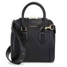 ALEXANDER MCQUEEN Heroine Medium Shoulder Bag. #alexandermcqueen #bags #shoulder bags #hand bags #leather #