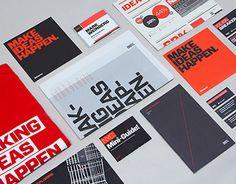 """다음 @Behance 프로젝트 확인: """"99% Conference 2012: Identity & Branded Materials"""" https://www.behance.net/gallery/3856261/99-Conference-2012-Identity-Branded-Materials"""
