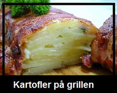 Kartoffelgratin svøbt i bacon – Grill venner Food N, Food And Drink, Scandinavian Food, Danish Food, Getting Hungry, Cooking Recipes, Healthy Recipes, Food For Thought, Soul Food