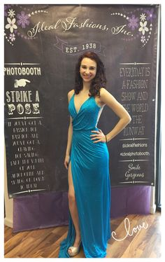 Red Carpet Ready!!! Micaela looks amazing in this #terani gown! #showstopper #prom2k15 #redcarpet #gorgeous #prom #gown #idealfashions #idealphotobooth