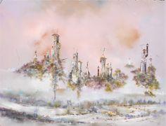 Les Cheminees by Bernard Louédin