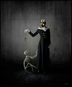Bizarre and dark