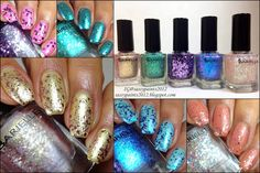 Sassy Paints: Barielle Bling It On Spring Collection 2015 Swatches & Review
